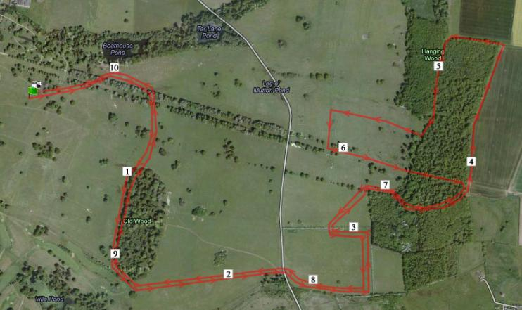 Grantham Cup course